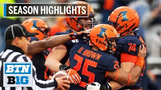 2019 Season Highlights: Illinois to Face Cal in Redbox Bowl | B1G Football thumbnail