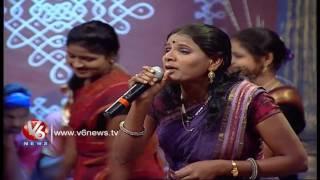 Kanchi Mekala Paala Thoni Song | Telangana Folk Songs | Dhoom Thadaka | V6 News