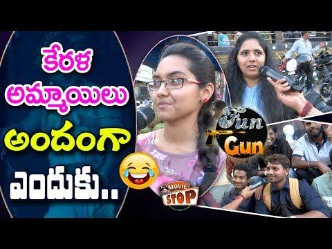 Hyderabadi Public Response For Who are More Beautiful || Telugu Girls Vs Kerala Girls || Movie Stop