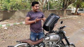 Modern Biker Backpack - King Indian