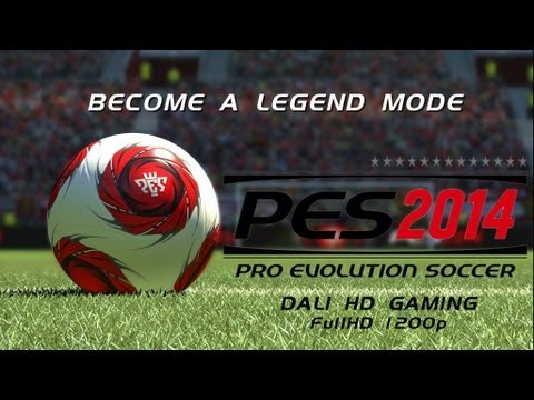 PES 2014 Become a legend PC Gameplay FullHD 1440p