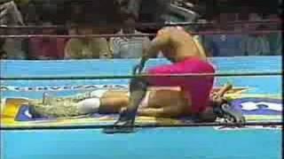 Konnan Vs Perro Aguayo (Mascara vs Cabellera) 4ta. parte
