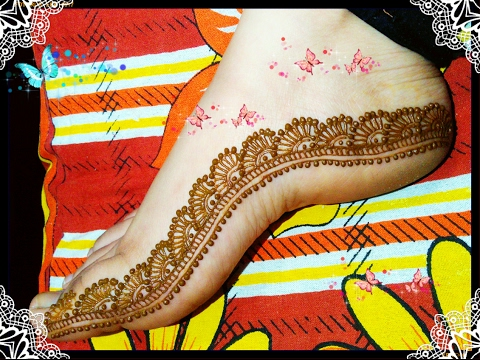 Mehndi Designs Feet N : Bridal mehndi designs for full hands and legs wedandbeyond
