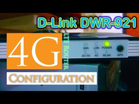 Dlink 4G LTE WiFi Router Configuration
