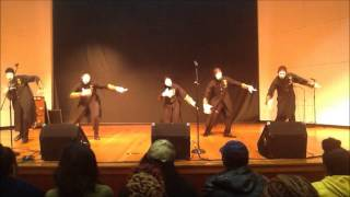 Until I Pass Out Mime at Norfolk State University - Silent Praize Mime Ministry