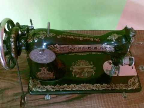 Maquinas de coser antiguas 1 wmv youtube for Maquina de coser alfa antigua precio