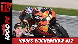 KTM verlässt die Moto2, Feuer bei der MotoE und vieles Mehr - 1000PS Wochenshow #32