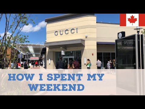 Shopping In Toronto- TORONTO PREMIUM OUTLET - Gucci, Tommy