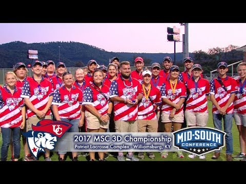 University of the Cumberlands - Men's & Women's Archery - MSC 3D Championship 2017