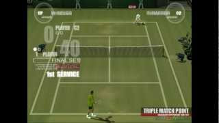 Smash Court Tennis: Pro Tournament - Gameplay PS2 HD 720P