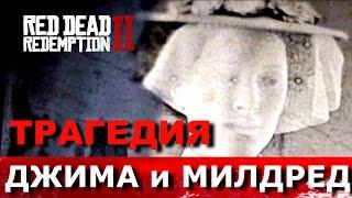 RED DEAD REDEMPTION 2. КУДА ПРОПАЛ ДЖИМ? Полная история Джеймса Пейтона и Милдред Барр.