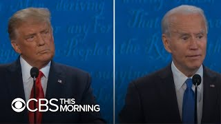 Trump, Biden clash on COVID-19, economy and health care during final presidential debate