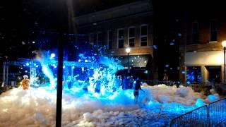 outdoor foam party 2014