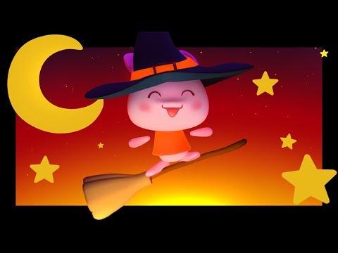 Petite sorcière - Danse et comptine d'Halloween pour les enfants - Titounis