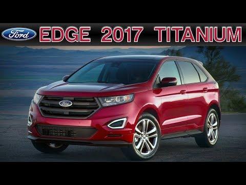 Ford Edge Titanium EcoBoost 2017 ¿Mejor que la V6?
