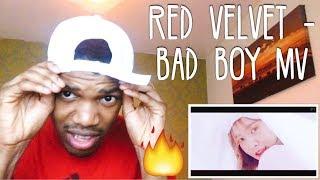 Red Velvet 레드벨벳 'Bad Boy' MV (REACTION)