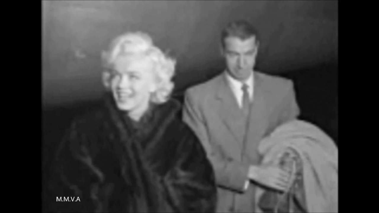 "Marilyn Monroe Archival Footage – Returning To Hollywood To Film ""Bus Stop"" 1956( Press conference)"