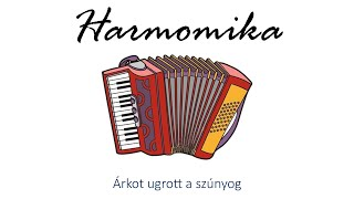Hangszer ovi - Árkot ugrott a szúnyog (harmonika) / Hungarian folk children song with animals