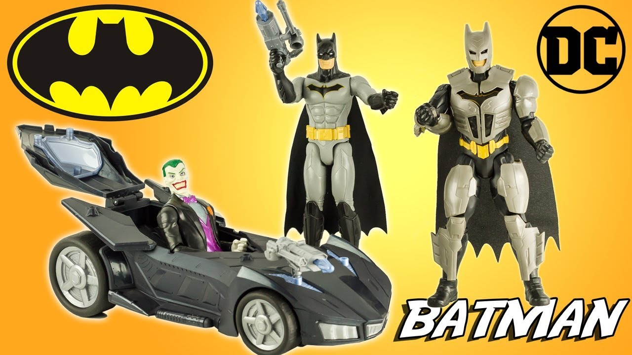 Batman en armure contre le joker figurines dc comics - Batman contre joker ...