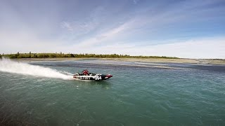 New Zealand Jet boat Marathon 2016 Day One : Waimakariri River