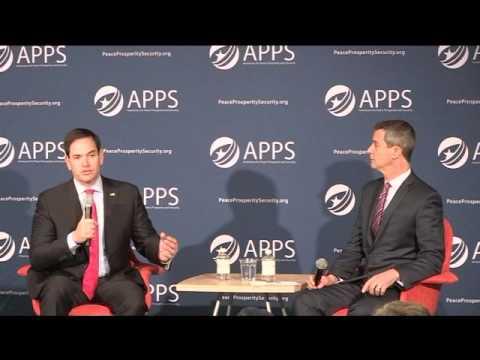 APPS hosts Senator Marco Rubio in New Hampshire