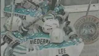 DEG - KEC 5. Finale 1993 komplette Verlängerung und Meisterfeier der DEG [PART3]