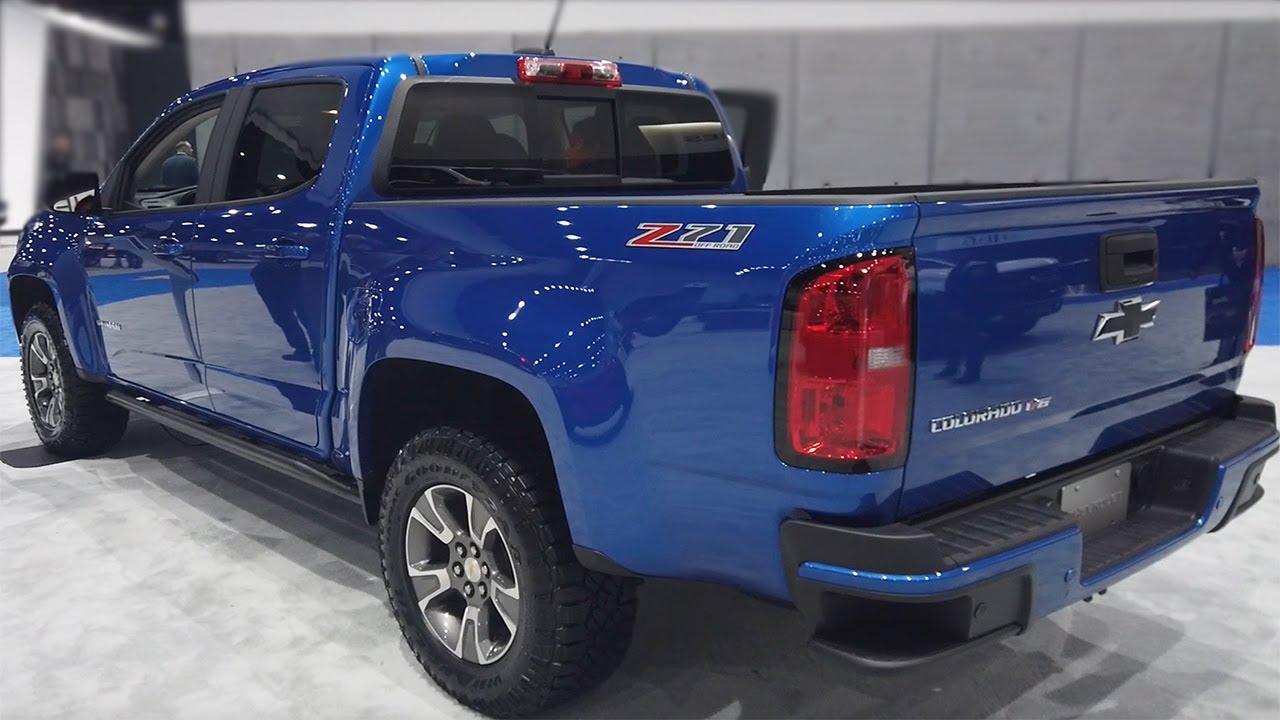 2020 chevrolet colorado z71 - exterior and interior