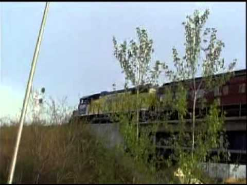 Special Business train With New York Container Special GP38 2 Bayway,NJ Spring 2011