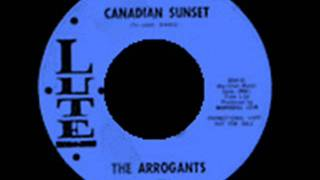The Arrogants   Canadian Sunset   1963 45 Lute 6226