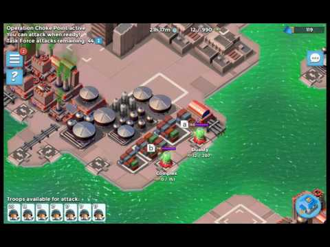 None Defense's guide to Boom Beach episode 87 (live choke point attacks. I've done worse)