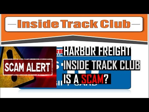 Harbor Freight Inside Track Club Membership is a Scam?