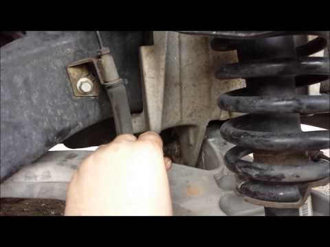Removing the Lower Control Arms & Ball Joints on your 2004 ...