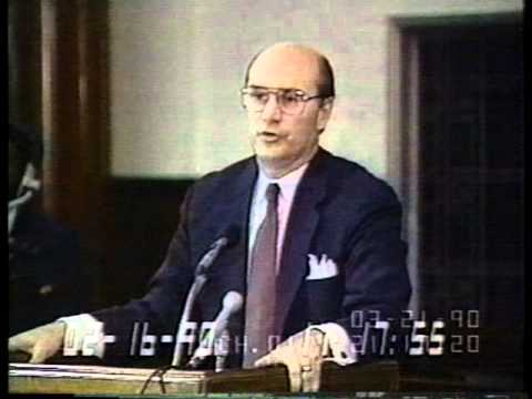 Reagan Testimony in Poindexter Trial, Part 1