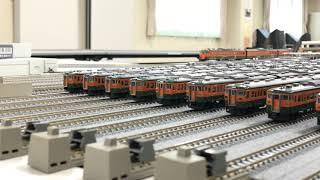 ≪鉄道模型≫  #プレハブ模型倶楽部 2020年1月 定例運転会 Nゲージ #115系の日 記念