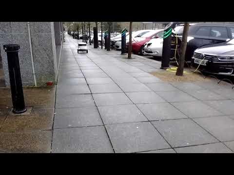 Robot delivery. Milton Keynes