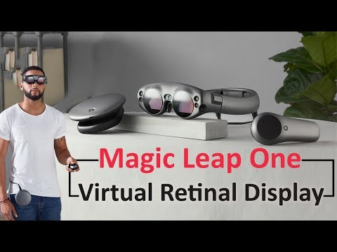 Magic Leap One - Mixed Reality Glasses | Explore Virtual Retinal Display