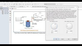 Solar Still   Distillation   Assisted by Waste Heat Energy   Performance Model   Matlab/Simulink