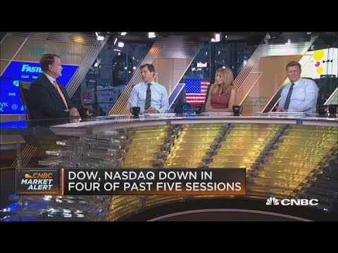 Market sell-off is attributed to midterm election uncertainty and earnings peaking, says CFRA's Stov