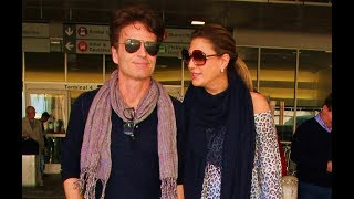 Richard Marx and his wife Daisy Fuentes