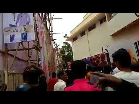 Mersal - FDFS - Bangalore - Mukunda theatre, Fans celebration