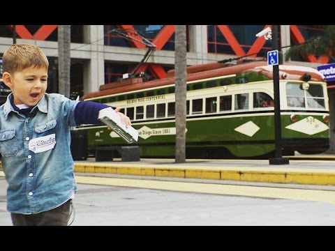 San Diego's Vintage Trolley - MTS Silver Line