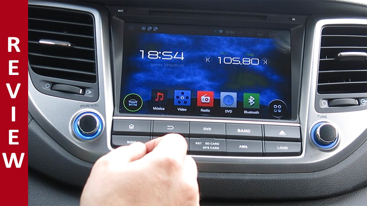 review android auto 4 4 4 rockchip hyundai tucson youtube. Black Bedroom Furniture Sets. Home Design Ideas