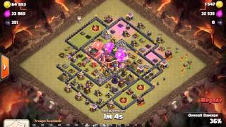 English Army Leader Steve Lavaloon war attack Clash of Clans