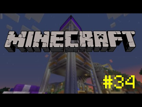 Minecraft - Let's Play - 34. - Mindezt azért, hogy répákat lőjjünk a levegőbe.
