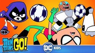 Teen Titans Go! En Español | Fútbol de Muerte Súbita | DC Kids