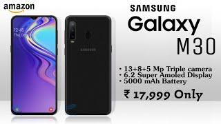 Samsung Galaxy M30 Official | Specifications, Price, Release Date
