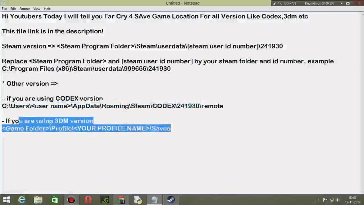 Far cry 4 скачать сохранение