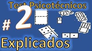 Test psicotecnico # 2 TEST DE DOMINO. ¿Cómo resolverlos? Explicados y resueltos