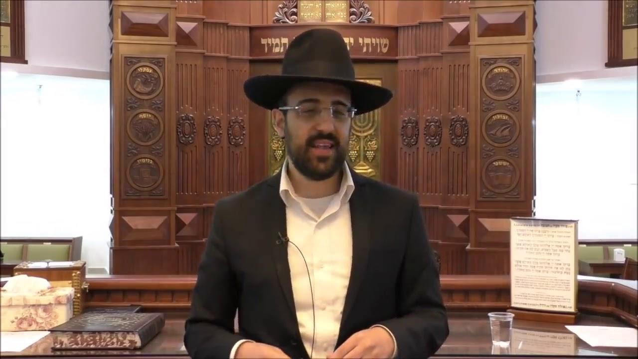 """הרב מאיר אליהו שליט""""א - ביטול תורה באיכות - משכן יהודה - בהר תשע""""ט"""