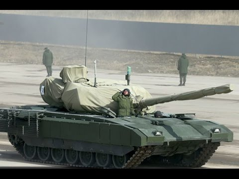 Танк Т-14 Армата характеристики  на 2015 год.  Мнение о танке.